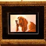 Bassett Hound Framed Giclées