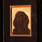 Poodle Framed Giclées