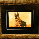 German Shepherd Framed Giclées