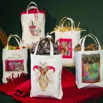 Photo of 5 canvas shopping bags