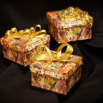 Boxes with artisan chocolates or Glazed mixed nuts
